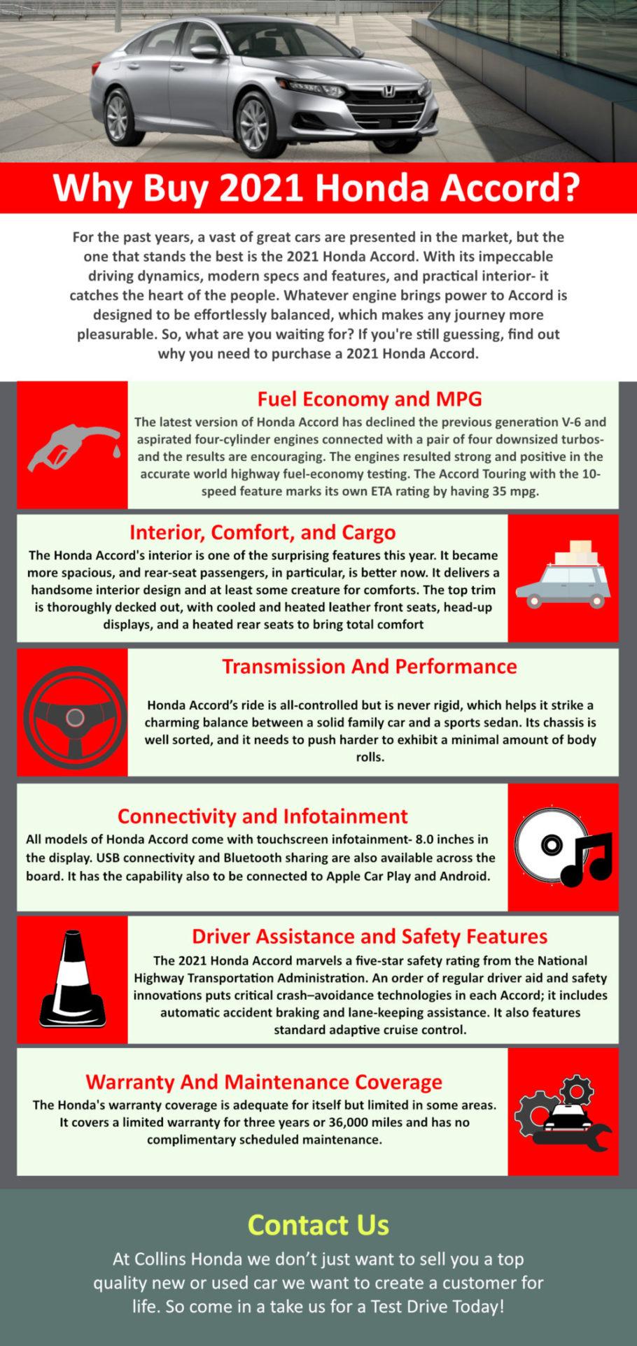 Why Buy 2021 Honda Accord?